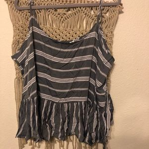 Old Navy Peplum Tank Top